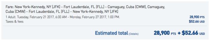 JFK-FLL-Cuba Feb