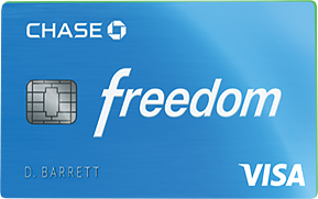 Why the Chase Freedom is a great first credit card